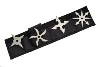 Rite Edge 210817-SL - Silver Throwing Star Set (SZ-SZ210817-SL)