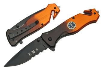 """Rite Edge 300202-EM - 4.5"""" Ems Folding Knife W/Clip (SZ-SZ300202-EM)"""