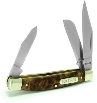 Schrade Old Timer 34OTW - Middleman Folding Pocket Knife (SC-SC34OTW)