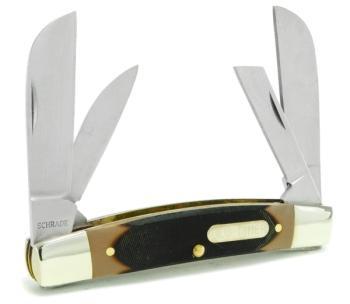 Schrade Old Timer 4OT - Big Man Folding Pocket Knife (SC-SC4OT)