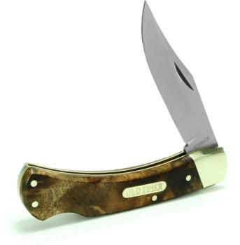 Schrade Old Timer 6OTW - Golden Bear Lockback Folding Knife (SC-SC6OTW)