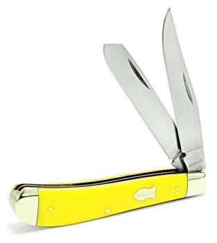 Schrade Old Timer 94OTY - Gunstock Trapper Folding Pocket Knife (SC-SC94OTY)