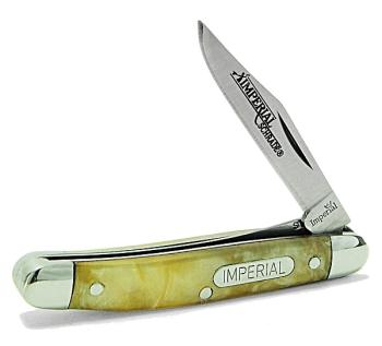 Schrade Imperial IMP21CI - Peanut Lockblade Folding Pocket Knife (SC-SCIMP21CI)