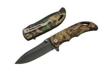 Rite Edge 300373 3.75 inch CAMO FOLDING KNIFE w 2.75 in blade (SZ-SZ300373)