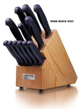 ColdSteel - 59KBL - Wood Block-Kitchen Classics (CS-CS59KBL)