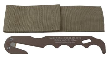 OKC - Model 4 Strap Cutter - Coyote Brown (OK-OKC1431)