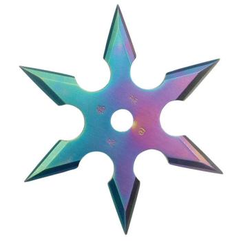 Master Cutlery - 90-16C THROWING STAR 4 inch DIAMETER (MC-MC-90-16C)