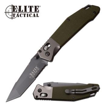 Elite Tactical ET-1027GN Folding Knife (MC-ET-1027GN)