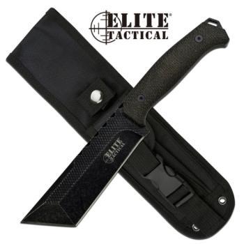 Elite Tactical ET-FIX001T-DSW Fixed Blade Knife (MC-ET-FIX001T-DSW)