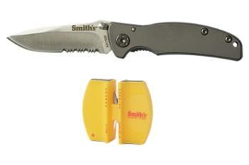 Titania-I Knife and 2-Step Sharpener Combo (SM-SM51016)