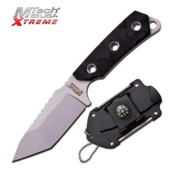MTech USA XTREME MX-8131BK NECK KNIFE 5.5 inch OVERALL (MC-MX-8131BK)