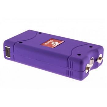 Purple Pocket Stun Gun with Flashlight (MC-MTW-L100PUR)