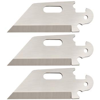 ColdSteel - Click N Cut (3 pack of Utility Plain Edge Blades) (CS-CS40AP3B)