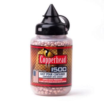 CROSMAN Copperhead BBs - Copper Coated- 5.3 gr. 1500 Count (CN-0737)