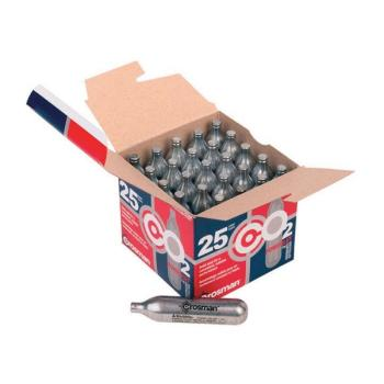 CROSMAN 12g CO2 Cartridges (25 Count) (CN-2311)