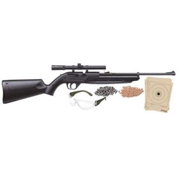 Crosman 760 Pumpmaster Pump Air Rifle with Shooting Kit (CN-760BKT)