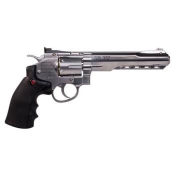 Crosman SR357 All-Metal Air Revolver - CO2 Powered (CN-CRVL357S)