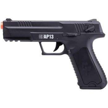 Crosman GFAP13 Full/Semi-Auto Airsoft Pistol with Rechargeable Battery (CN-GFAP13)