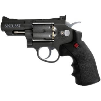 "Crosman""Snub Nose Revolver"" All Metal - CO2 Powered (CN-SNR357)"