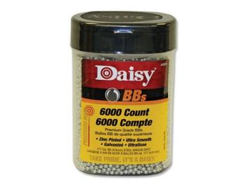"Daisy Zink Plated""Silver"" BBs (6000 Count) (DY-980060444)"