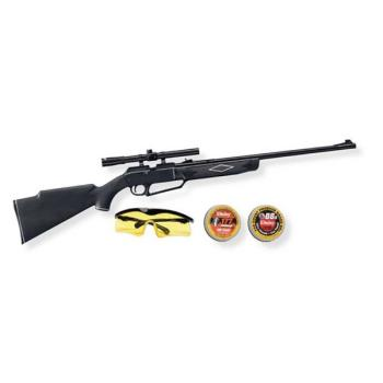 Daisy 880 Pump Rifle with 4x15mm Scope and Shooting Kit (DY-995880623)