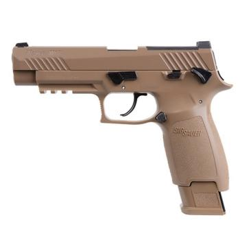 Sig Sauer M17 Air Pistol - CO2 Powered (Coyote Tan) (SS-AIRM17177)