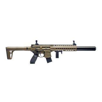 Sig Sauer MCX Semi-Auto Air Rifle - CO2 Powered (Flat Dark Earth) (SS-AIRMCX17788G30FDE)