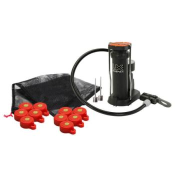 Umarex Big Blast Cap Reactive Target Inflator Caps with Air Pump (UX-2211188)