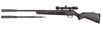 Beeman Quiet Tek, 177/22 Caliber, Break Barrel, Black Synthetic Stock  (BE-1152QT)