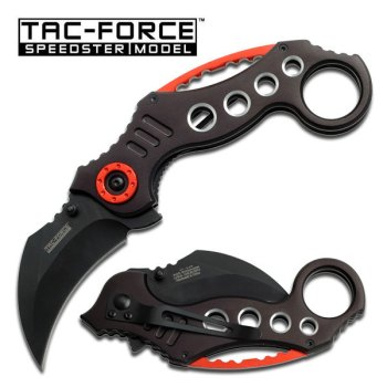 TAC-FORCE TF-578BK TACTICAL SPRING ASSISTED KNIFE (TF-TF-578BK)
