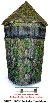 2020 Cooper Hunting Chameleon+ Tree Stand Bind to Fit over Single or 2 (CH-GB620MO)