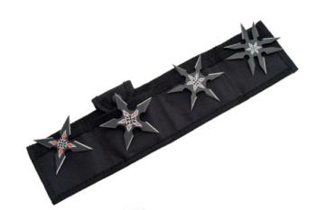 Rite Edge 210816 - Black Throwing Star Set (SZ-SZ210816)