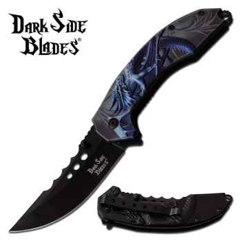 DARK SIDE BLADES DS-A072BL SPRING ASSISTED KNIFE (DS-DS-A072BL)