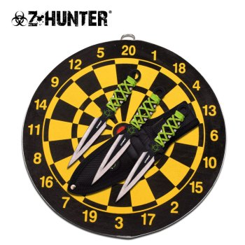 "Z HUNTER ZB-155SET THROWING KNIFE SET 6.5"" OVERALL (ZB-ZB-155SET)"