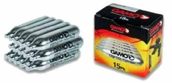 Gamo Air Gun CO2 cartridges pack of 15 (GA-62124701554)