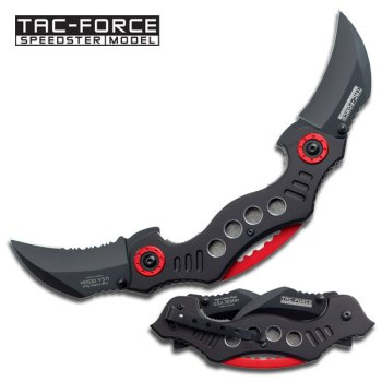 Tac-Force Dual Blade Assisted Folder (TF-TF-669BK)