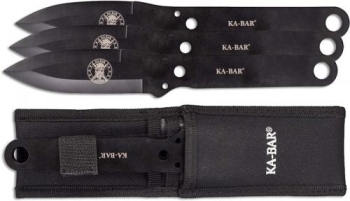 KA-BAR Throwing Knife Set (KB-KB1121)