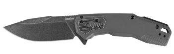"""Kershaw 2061 Cannonball Assisted Flipper Knife 3.5"""" D2 BlackWashed  (KW-KW2061)"""
