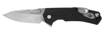 "Kershaw 8655 Drivetrain Assisted Rescue Flipper Knife 3.2"" D2 Stonewas (KW-KW8655)"