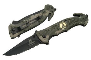 "Rite Edge 300244-CM - 5"" Dont Tread On Me Folding Knife (SZ-SZ300244-CM)"