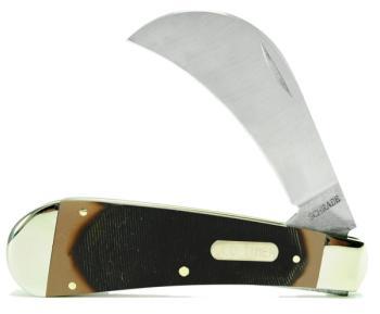 Schrade Old Timer 16OT - Hawkbill Pruner Folding Pocket Knife (SC-SC16OT)