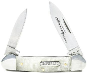 Schrade Imperial IMP11 - Large Canoe Folding Pocket Knife (SC-SCIMP11)