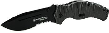 Smith & Wesson SWBLOP4BS - Black Ops M.A.G.I.C. Assisted Opening Liner (SW-SWBLOP4BS)