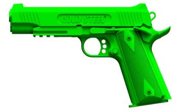 ColdSteel - 92RGC11 - 1911 Rubber Training Pistol (CS-CS92RGC11)