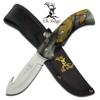 Elk Ridge Knife - ER-274FC - Fixed Blade Knife (MC-ER274FC)