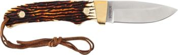 Schrade Uncle Henry Mini Pro Hunter Full Tang Fixed Blade Knife (SC-SCPH2N)