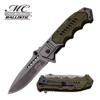 MASTER USA MU-A041GN - SPRING ASSISTED KNIFE (MC-MU-A041GN)