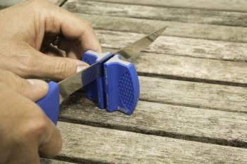 Smith Abrasives 50897 Fillet Knife and Sharpener (SM-SM50897)