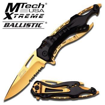 MTech --A705BG SPRING ASSISTED KNIFE 4.5 inch CLOSED (MC-MT-A705BG)
