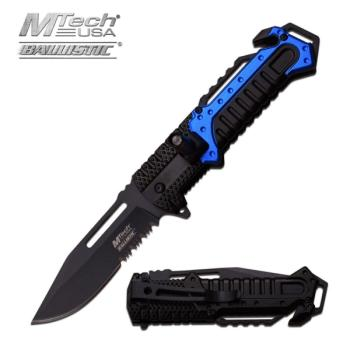 MTech --A933BL SPRING ASSISTED KNIFE 5 inch CLOSED (MC-MT-A933BL)